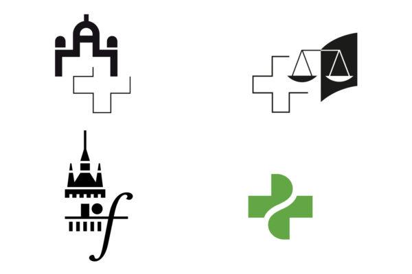 Zeichen Parlament, Bundesgericht, Musikakademie Sighisoara und pharmaSuisse (Apothekerverband)