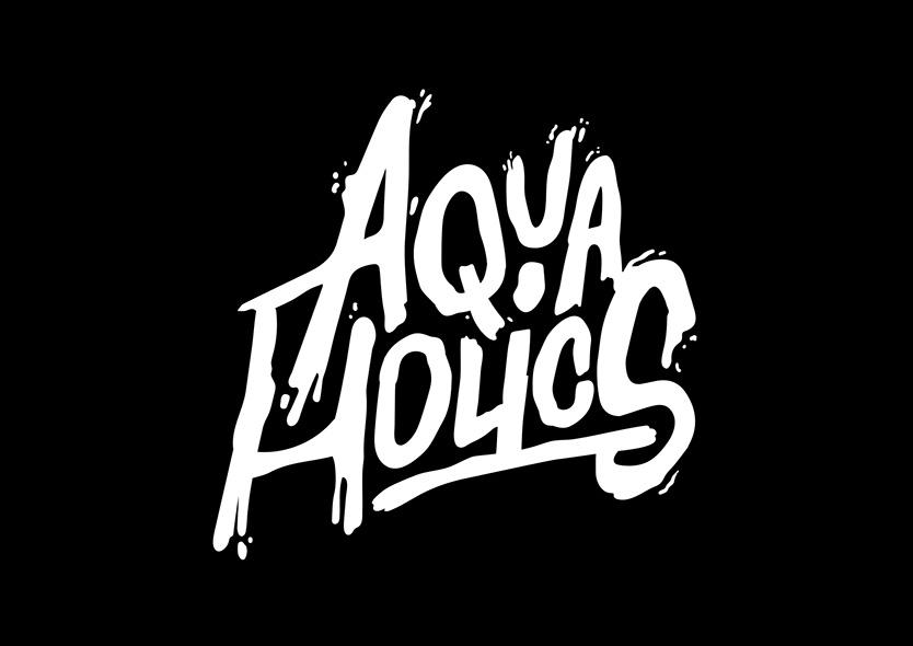 Logotype Aquaholics Showcase Perspektiven Pasquale Herren
