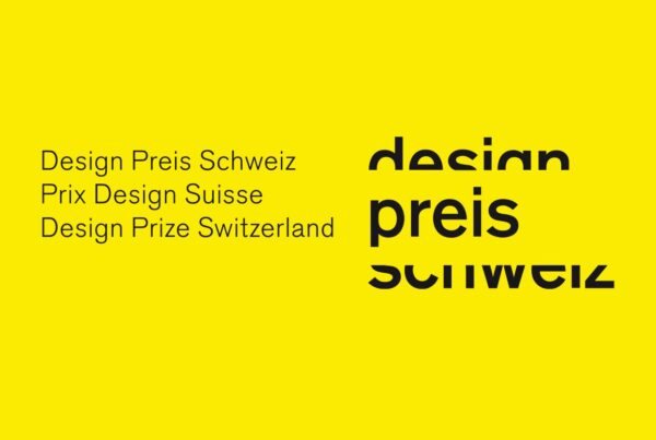 Design Prize Switzerland 21, Beitragsbild