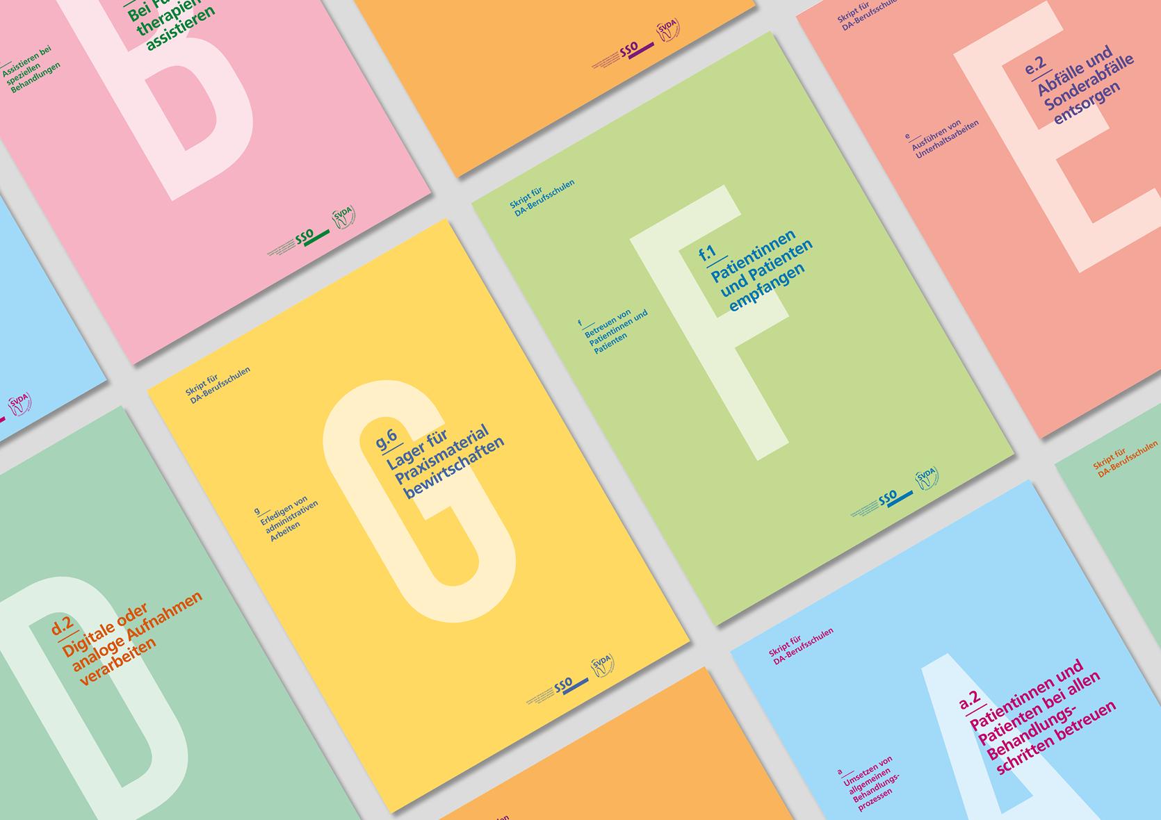 Definitiv Design, Perspektiven: SSO Lehrmittel für DA-Berufsschulen, Coverkonzept